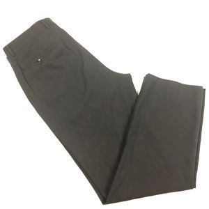 Armani Collezioni black wool dress slacks 36 x 32